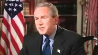 BANNED INTERVIEW with George Bush Jr. US President