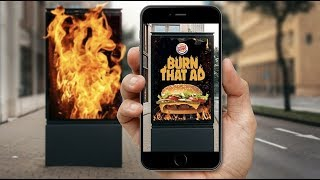 AR TECHNOLOGY PLATFORM - BURGER KING CAMPAIGN 2019