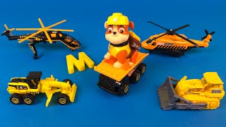 Matchbox on a Mission Mission Construction Toys with Mighty Machines Helicopter Dump Truck Bulldozer
