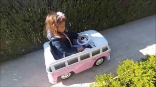 otobüs ile bahçede geziyoruz bu otobüs tam çılgın, eğlenceli çocuk videosu