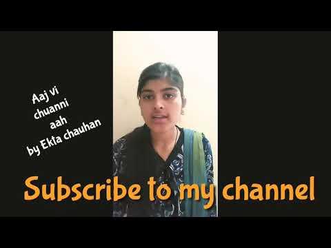 Aaj vi chaunni aa cover song  Ninja | Ekta chauhan cover song Aaj vi chaunni aa | Goldboy