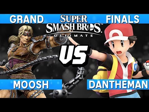 Smash Ultimate Tournament Grand Finals - Moosh (Simon) vs Da