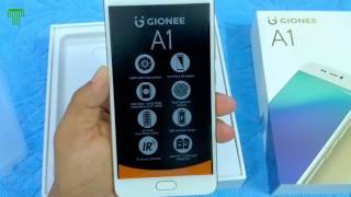 hindi gionee a1 unboxing