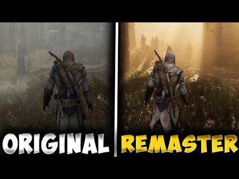 COMPARACIÓN GRÁFICOS Assassin's Creed 3 vs REMASTERED - RAFITI thumbnail