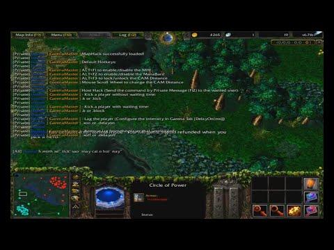 huong dan hack map garena plus - Hướng Dẫn Hack Map Trong Warcraft 3 Bằng Garena Master