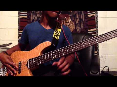 Bass Cover Trey Songz- Bottoms Up Live Arrangement
