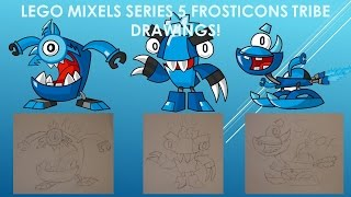 LEGO Mixels Series 5 Frosticons Tribe Drawings!