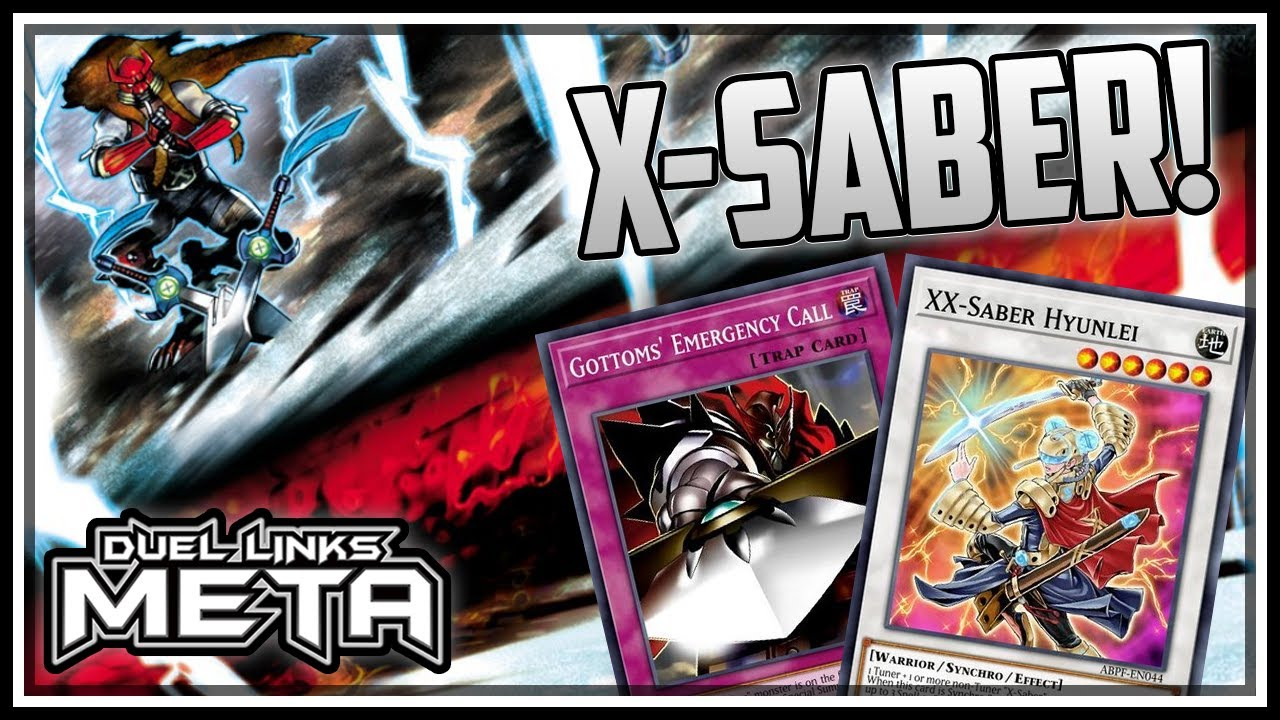 X-sabers new support! Negate summons with Saber Hole! [Yu-Gi-Oh! Duel Links]