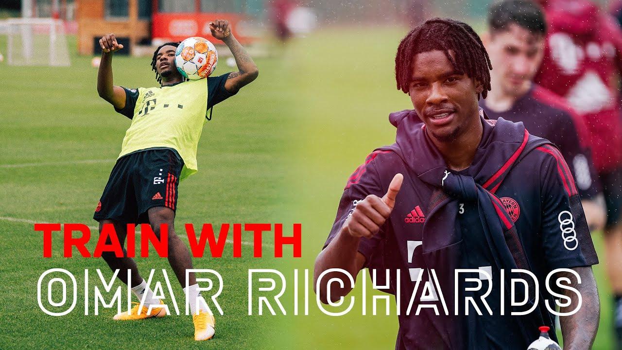 Training with Omar Richards