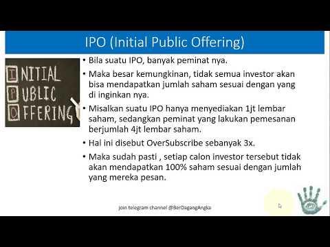 Belajar Saham : IPO (Initial Public Offering)
