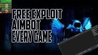 ROBLOX ALL GAME AIMBOT AND HBE| HACK/SCRIPT | FREE EXPLOIT +NICE GUI
