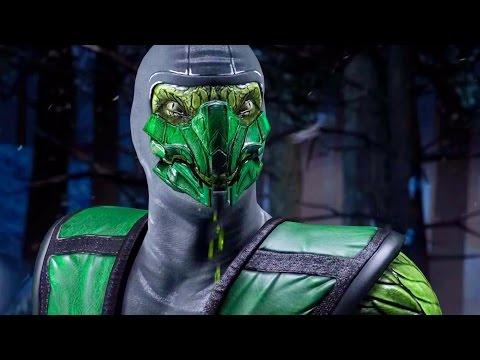 Mortal Kombat X - Reptile All Interaction Dialogues