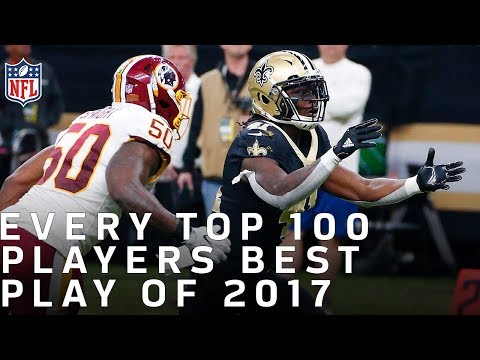 Every Top 100 Players of 2018s Best Play from 2017 | NFL Highlights