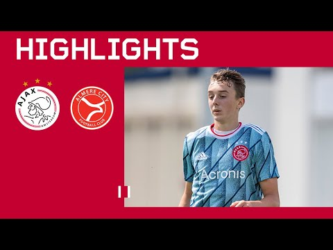HIGHLIGHTS | Ajax O18 - Almere City O21 | THE YOUTH HAS STARTED
