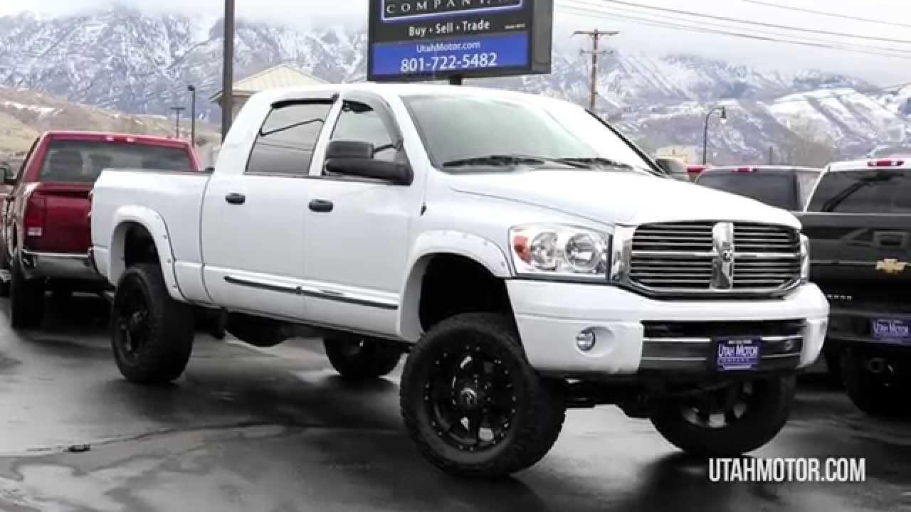 2008 Dodge Ram 2500 Laramie Utah Motor Company Llc 801