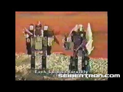 Transformers G1 Horrorcons Headmasters commercial 1987