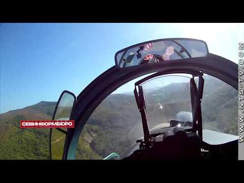 НТС Севастополь: Экипажи истребителей Су-27СМ3 и Су-30М2 приступили к выполнению полётов в сложных условиях