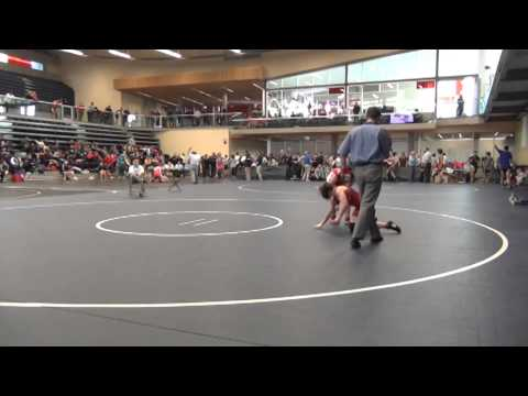 2014 SFU International 53 kg Madison Parks vs Rachel Alder