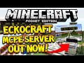 JOIN MY SERVER!! - Minecraft Pocket Edition ECKOCRAFT Official Server - Shops, SMP, Jobs!