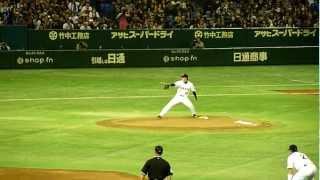 2012.3.3 オープン戦、読売ジャイアンツ×埼玉西武ライオンズ 巨人先発・...