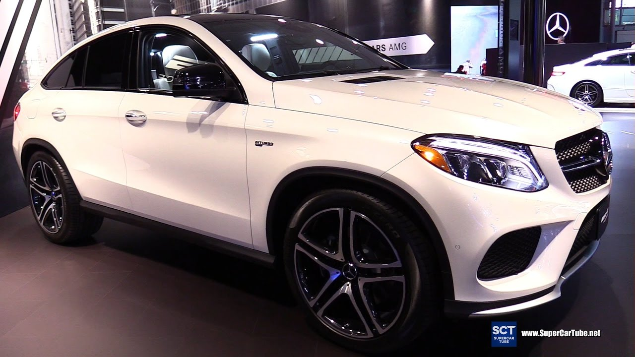 2017 Mercedes Amg Gle Cl 43 Coupe Exterior Interior Walkaround New York Auto Show