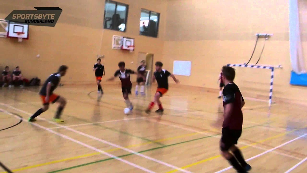 Futsal Highlights  Sunderland 3 - 5 Sheffield Hallam. Sportsbyte Sunderland 608e89a1891b5