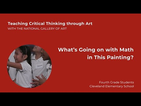 Teaching Critical Thinking through Art, 3.4: What's Going on with Math in This Painting?