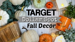 Awesome Target Dollar Spot Finds 2018 | Target Fall Farmhouse Decor | Krafts by Katelyn