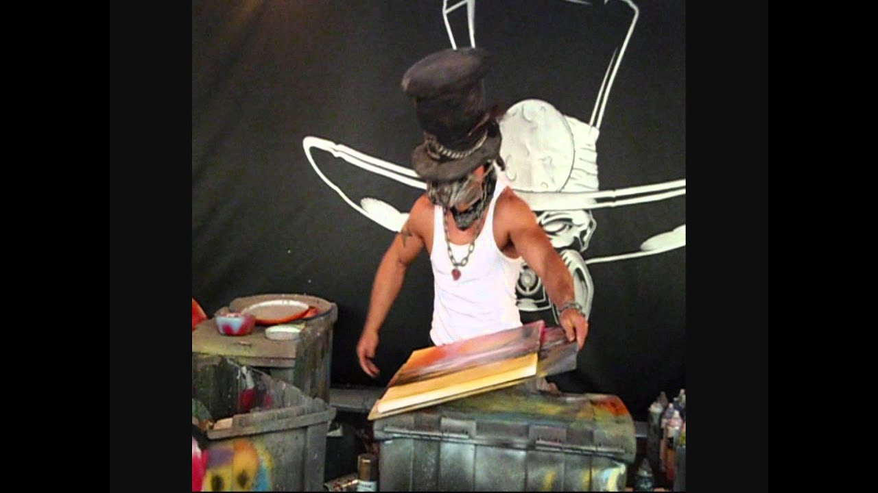 joshua moonshine spray paint art youtube. Black Bedroom Furniture Sets. Home Design Ideas
