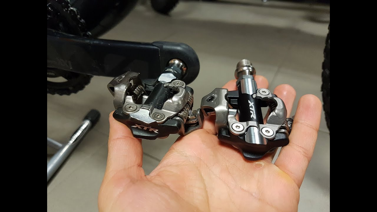 Brand new XTR M9100 pedals vs  XTR M9000 - first look