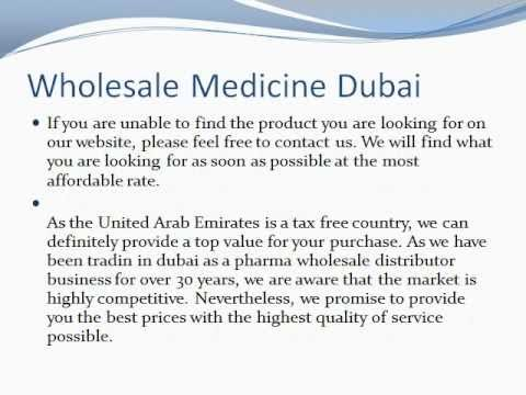 Wholesale Medicine Dubai