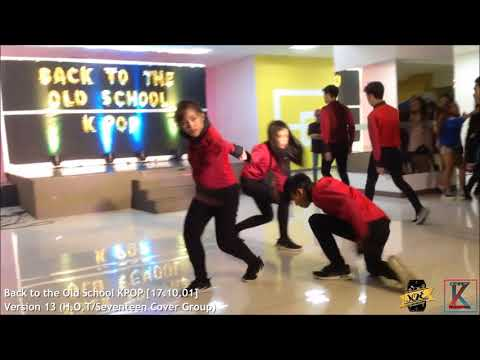 Version 13 (H.O.T/Seventeen Cover Group) on  Back to the Old School KPOP