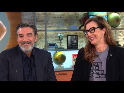 Allison Janney and Chuck Lorre talk CBS' new primetime lineup