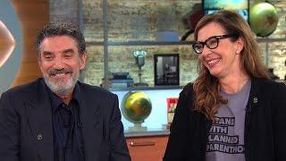 Allison Janney and Chuck Lorre talk CBS' new primetime lineup