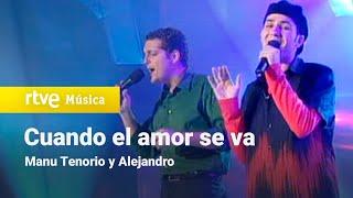 """Manu Tenorio y Alejandro - """"Cuando el amor se va""""   OT1 Gala 1   Operación Triunfo"""