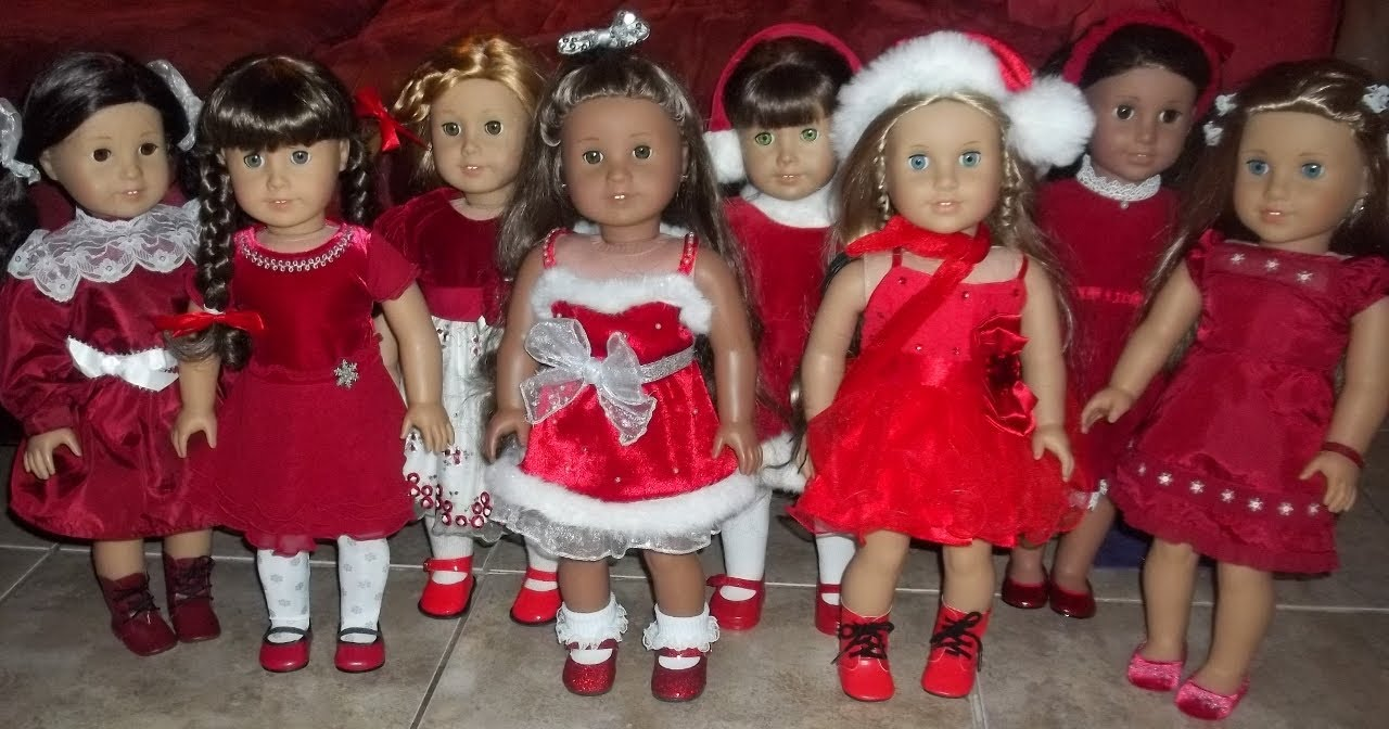 Merry Christmas American Girl Dolls Style! - YouTube
