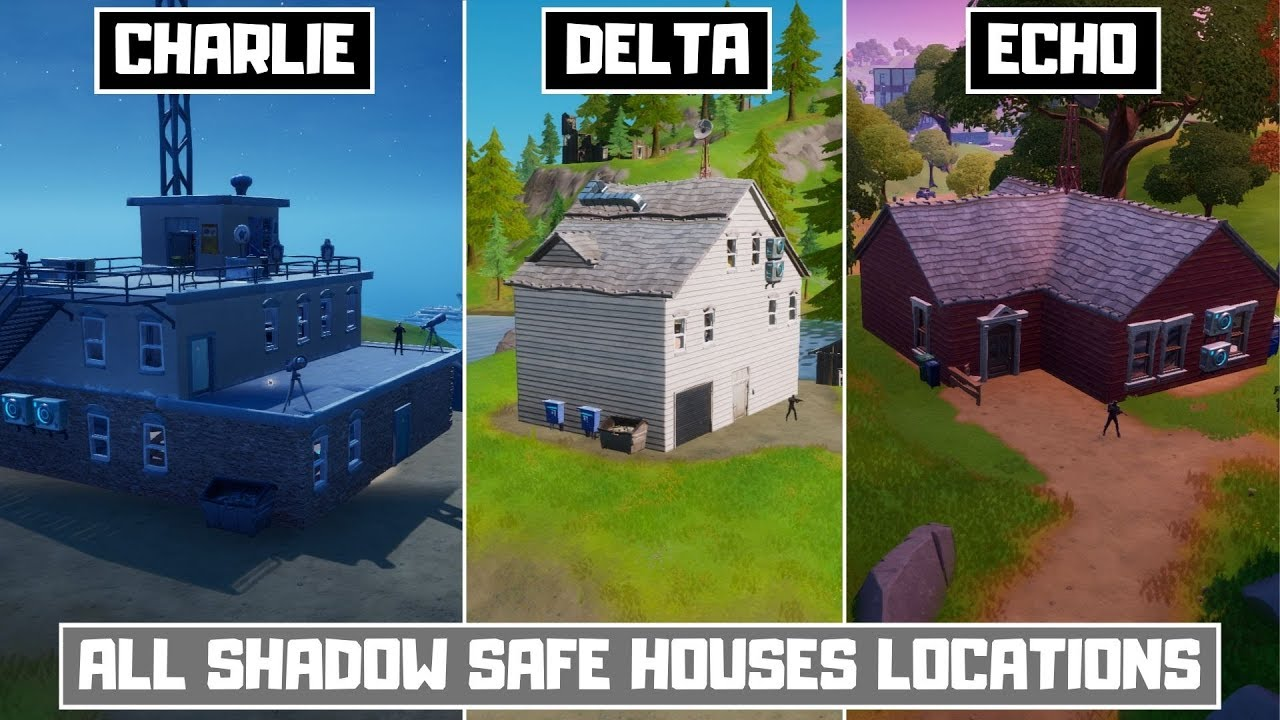 Find SHADOW Safe Houses! All Shadow Safe House Locations ...