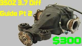 homepage tile video photo for Nissan 350Z 3.69 Differential Gear Upgrade for $300 (Part 2 of 2)