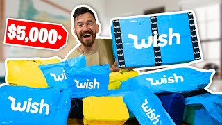 Massive MYSTERY Wish Unboxing!! **$5,000 Wish Haul**