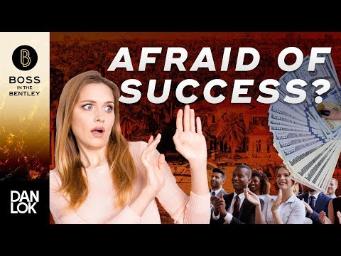 Why People Don't Succeed And 3 Proven Ways To Overcome Fear of Success