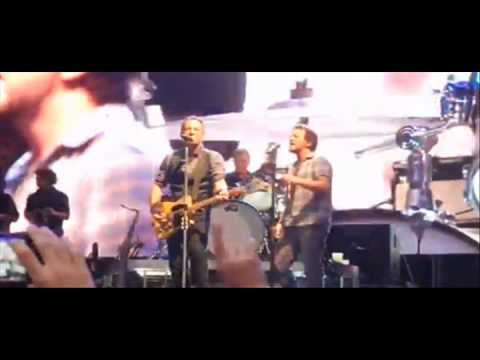 Eddie Vedder + Springsteen Highway To Hell - George Lynch NAMM 2014 Video -- Hatriot Audio Clips