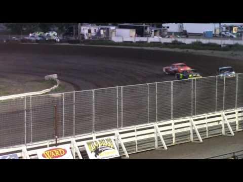 Nodak Speedway IMCA Hobby Stock A-Main (8/14/16)