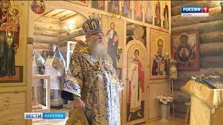 На острове Клименецкий идет восстановление Свято-Троицкого мужского монастыря