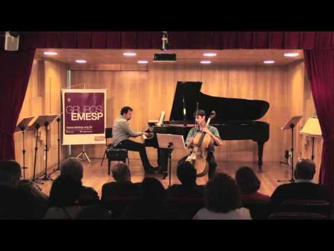 Anton Webern - Três peças op. 11 (1924) para violoncelo e piano