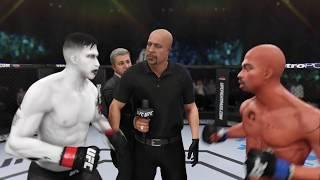 Marilyn Manson vs. Tupac Shakur (EA sports UFC 3) - CPU vs. CPU