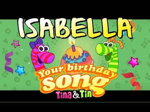 Tina&Tin Happy Birthday ISABELLA