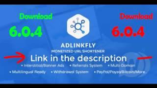 Download AdLinkFly v6.0.4 Monetized URL Shortener