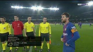 Real Betis vs Barcelona 0-5 Full Match/Partido Completo - La Liga  21/01/2018