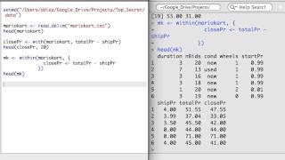 R 3.3 - Zugang oder Erstellen Sie Spalten im Daten-Frames oder Vereinfachen einen Daten-Frame mit Aggregat()