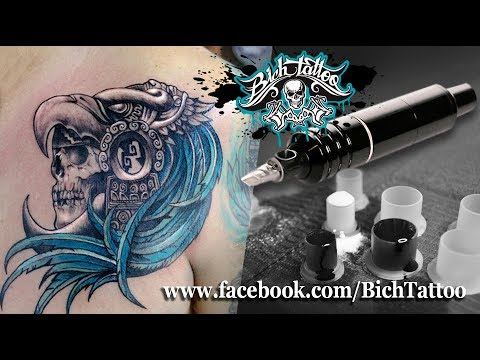 Tatuaje Prehispánico por Bich Tattoo